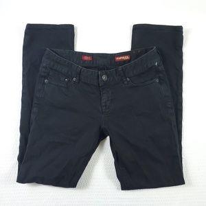 Express Stella Skinny Leg Black Jean's- 2S